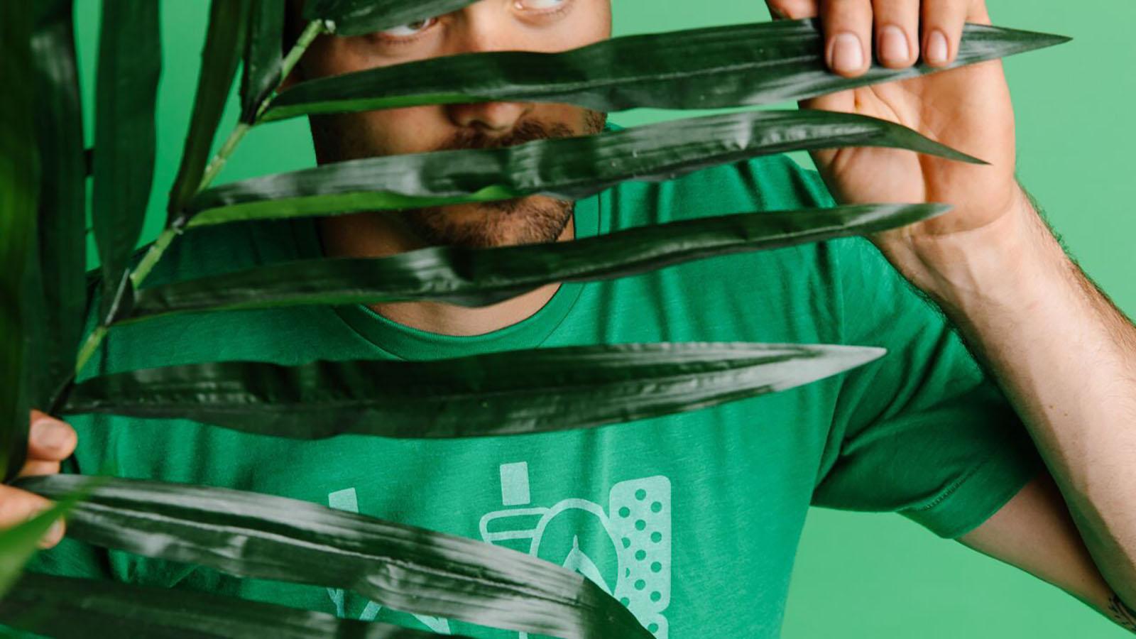 Live Green Environment Support T-Shirt 100/% Soft Cotton