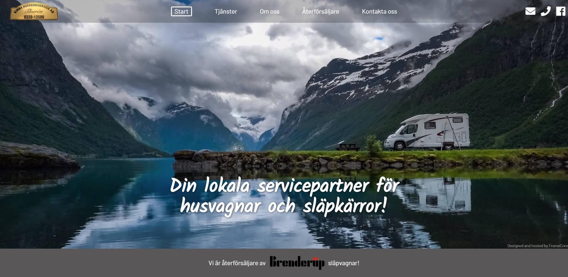Kinna Husvagnsservice är det lokala husvagns service företaget