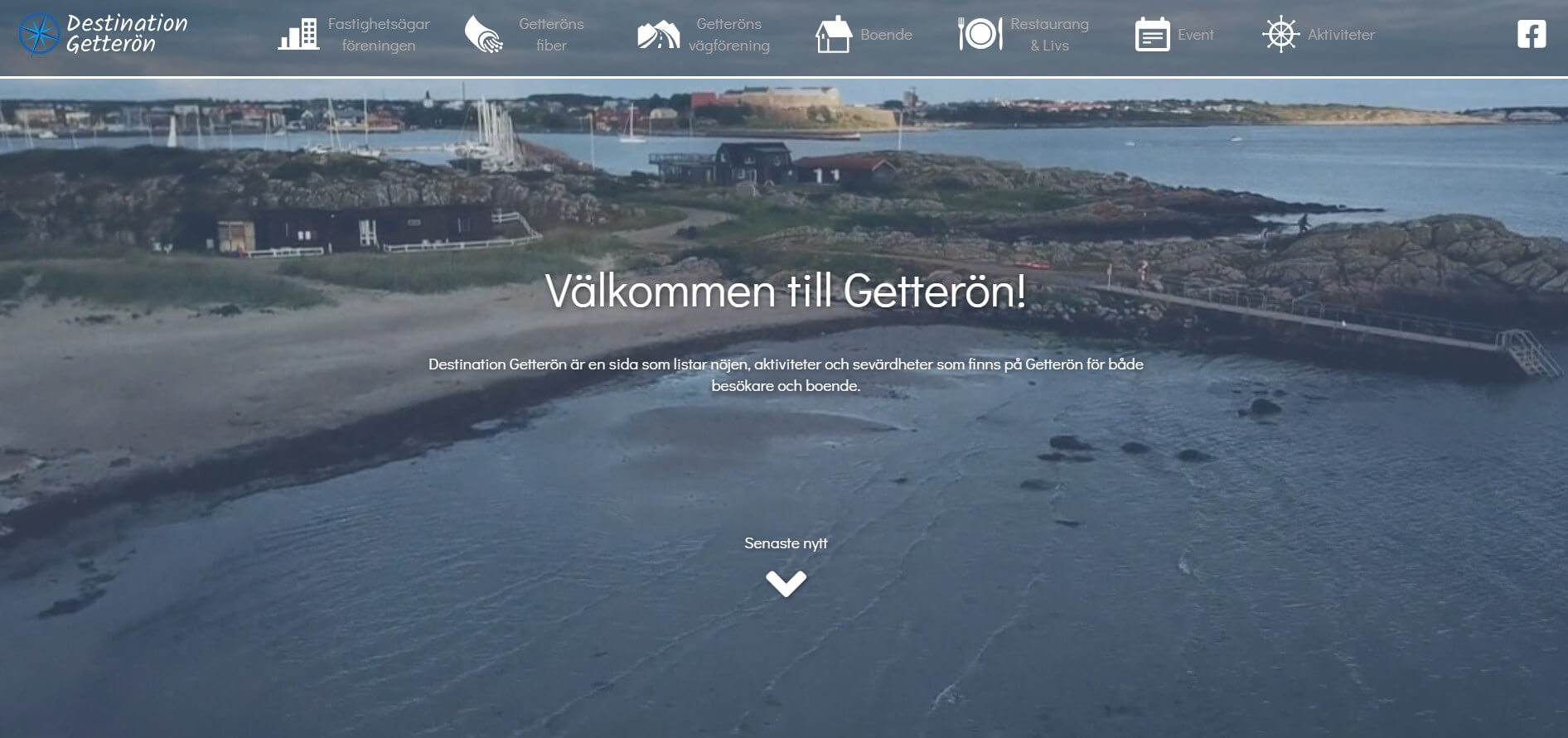 Destination Getterön ger info om sevärdheter
