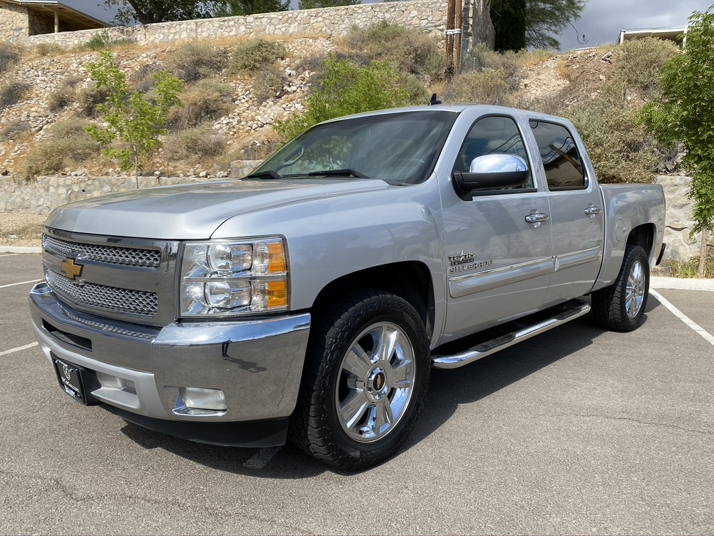 2012 CHEVROLET SILVERADO 1500 TEXAS EDITION