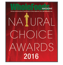 Natural Choice Award Winner 2016, 2014, 2013 & 2011
