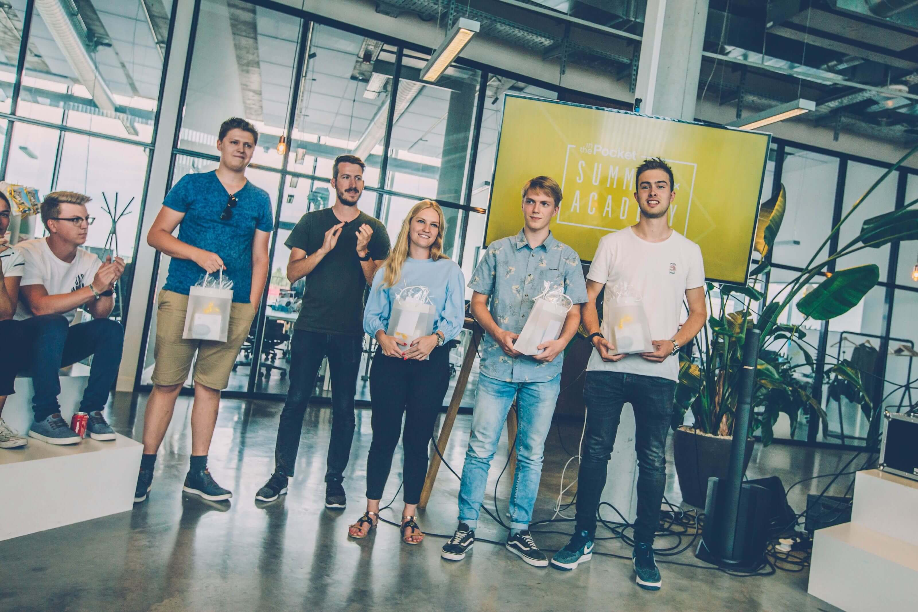 Team 'Kweenie' wins the Summer Academy