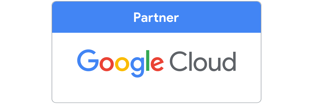 Google cloud partnership badge