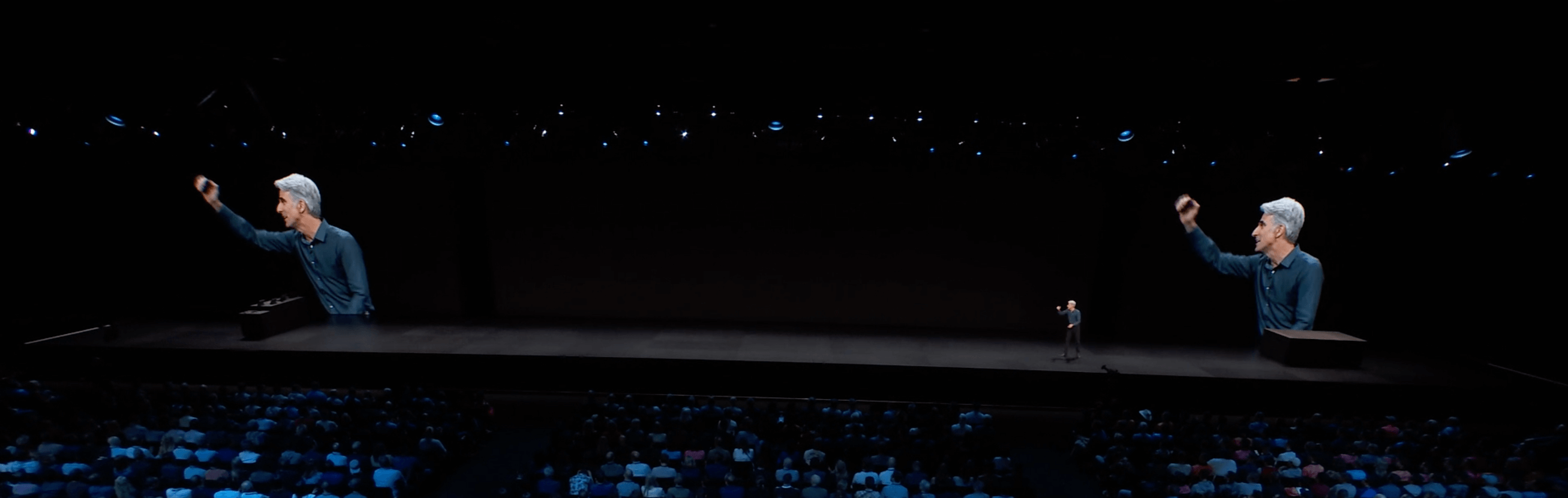 Apple presentation and announcement at WWDC