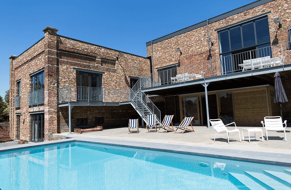 The Summer Academy accommodation with pool
