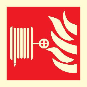 Brannslange plogskilt
