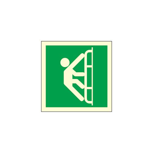 Rømnings-stige