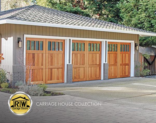 . RW Garage Doors   Modern Wood Garage Doors