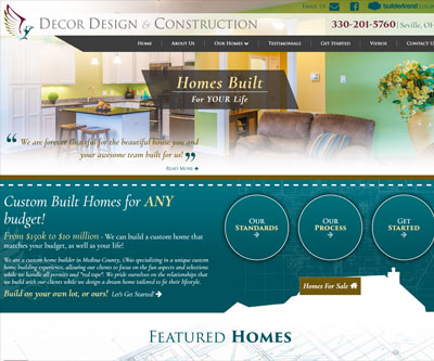 Website Design by Snyder Advertising Wooster Ohio