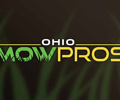 Logo Design for Ohio Mow Pros by Snyder Advertising