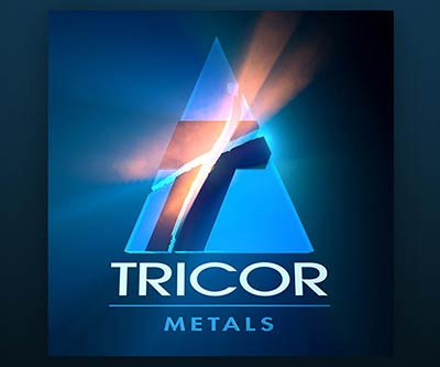 Logo Design for Tricor Metals by Snyder Advertising Wooster, Ohio