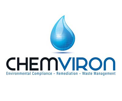 Logo Re-Design for Chemviron by Snyder Advertising Wooster, Ohio