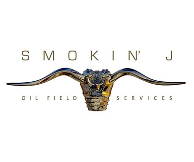 Logo Design for Smokin' J Oil Field Services by Snyder Advertising