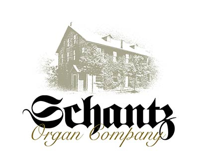 Logo Design for Schantz Organ Company by Snyder Advertising