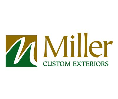 Logo Design for Miller Custom Exteriors by Snyder Advertising