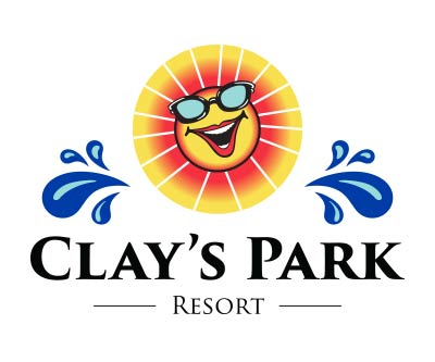Logo Update & Refresh for Clay's Park Resort by Snyder Advertising Wooster Ohio