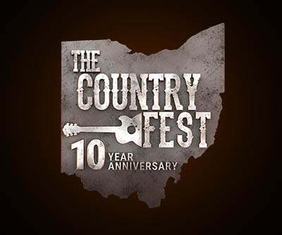 3D Logo Enhancement for The Country Fest by Snyder Advertising