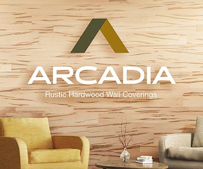 Logo Design & Branding for Arcadia Wall Coverings by Snyder Advertising