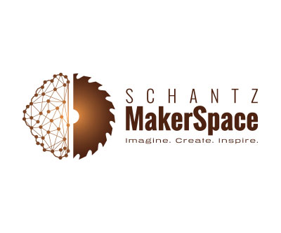 Logo Design & Branding for Schantz Maker Space by Snyder Advertising Wooster Ohio