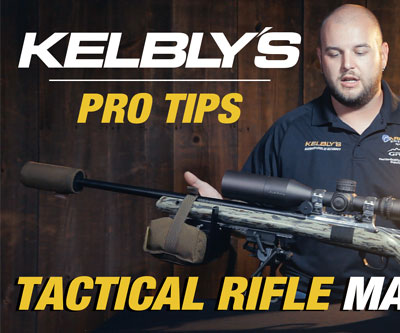 Tactical Rifle Match Prep Video for Kelbly Rifles