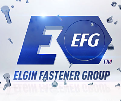 Intro Animation for Elgin Fastener Group