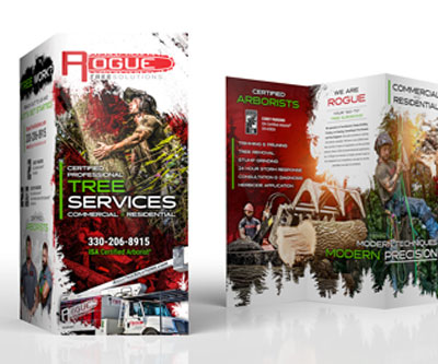 Brochure Design for Rogue Tree Solutions by Snyder Advertising