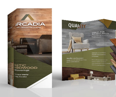 Brochure Design for Arcadia Wall Coverings