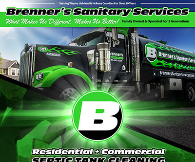 Print Ad Design for Brenner's Sanitary
