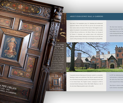 Brochure Design for Stan Hywet