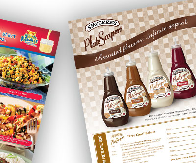 Sell Sheet Design for Smuckers by Snyder Advertising