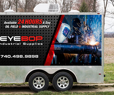 Trailer Wrap Design for Buckeye BOP