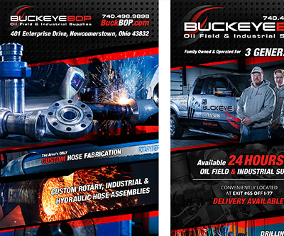 Banner Stand Design for Buckeye BOP