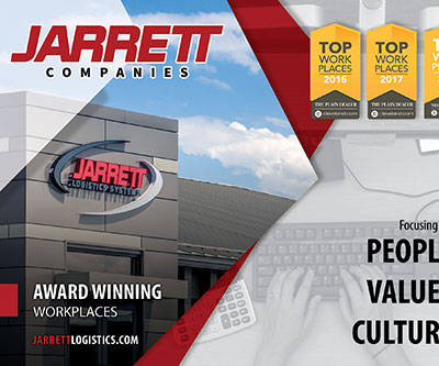 Recruitment Hand-Out Design for Jarrett Companies
