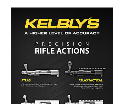 Banner Stand Design for Kelbly's Rifles