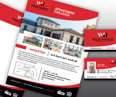 Branding Consistency Project for Wiles Hanzie Realty