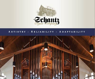 Brochure Design for The Schantz Organ Company