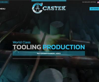 Castek Website Production