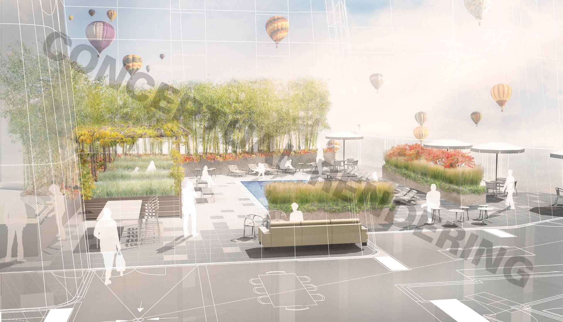 Arbolope Studio | Landscape Architects + Urban Designers | One Hundred (Studio Gang)