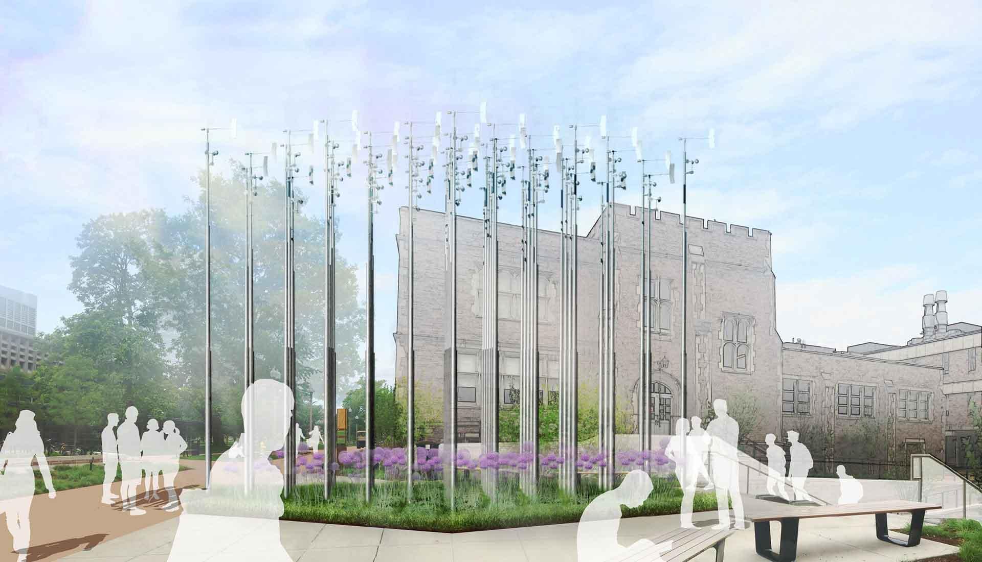 Arbolope Studio | Landscape Architects + Urban Designers | Weather Field No. 2