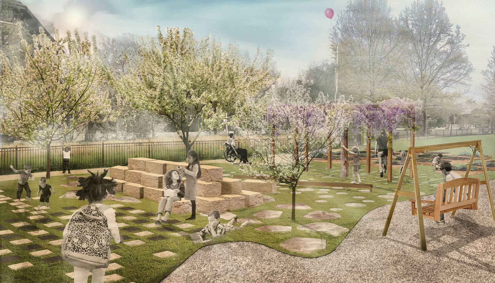 Arbolope Studio | Landscape Architects + Urban Designers | Children's Play Garden