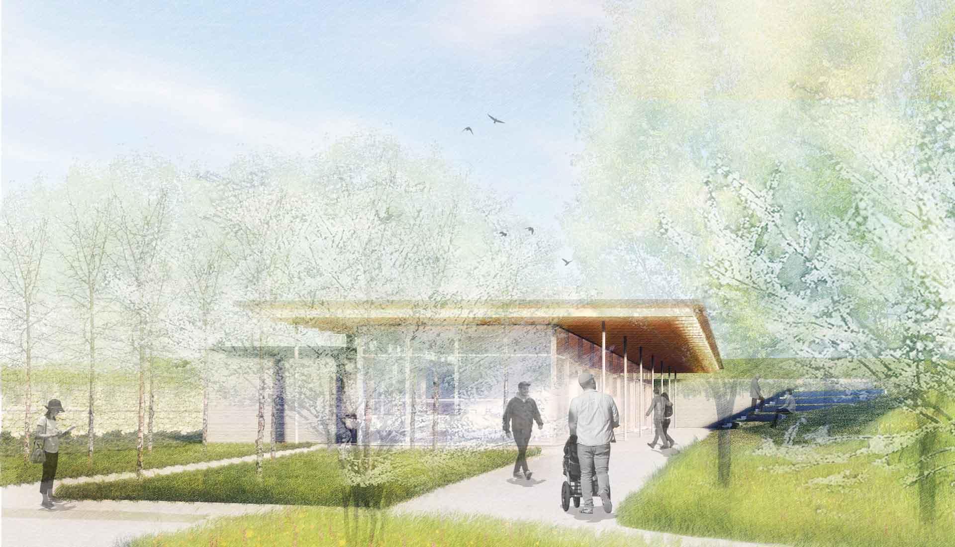 Arbolope Studio | Landscape Architects + Urban Designers | Krauss House Visitor Center