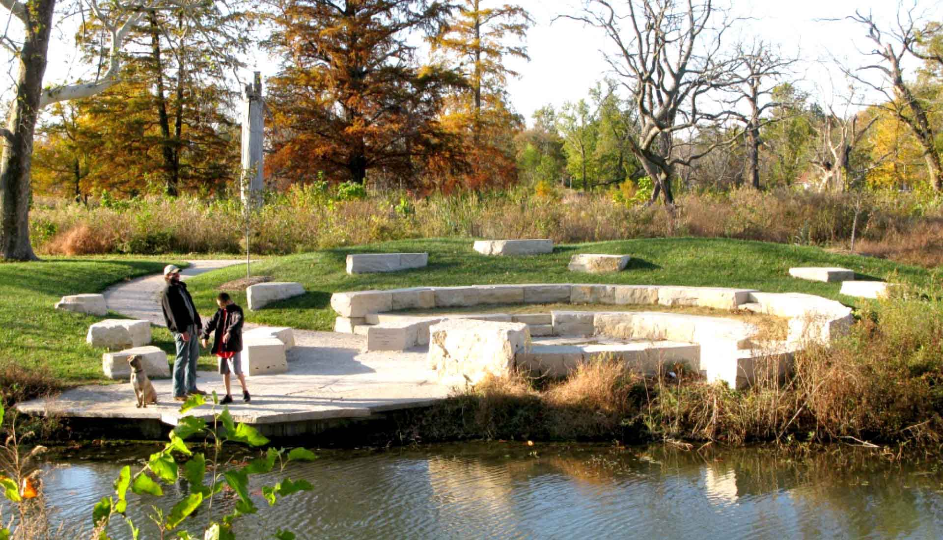 Arbolope Studio | Landscape Architects + Urban Designers | Council Circle (Forest Park)