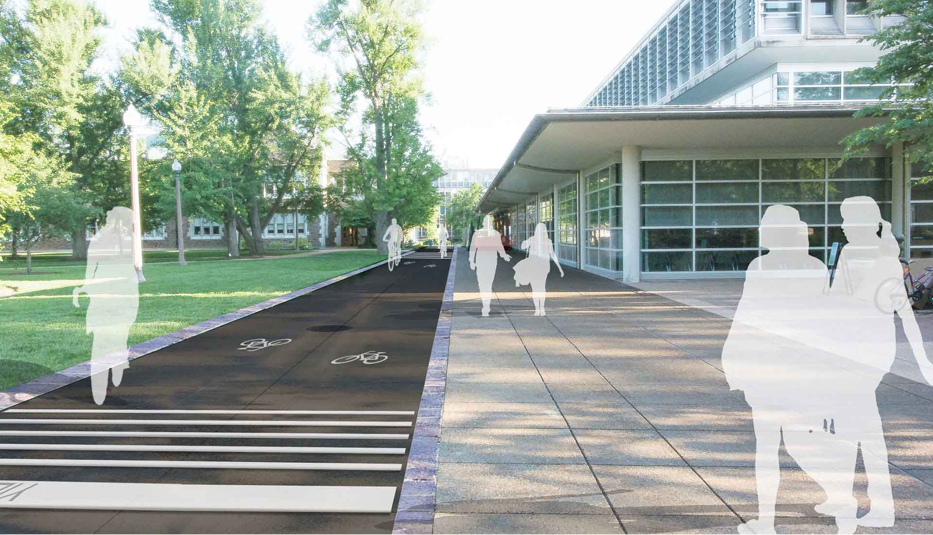 Arbolope Studio | Landscape Architects + Urban Designers | Capital Projects Connector (Washington University in St. Louis)