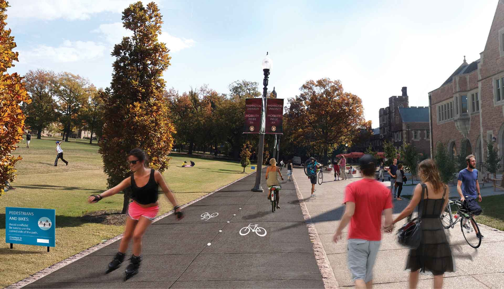 Arbolope Studio   Landscape Architects + Urban Designers   Mobility Framework Masterplan (Washington University in St. Louis)