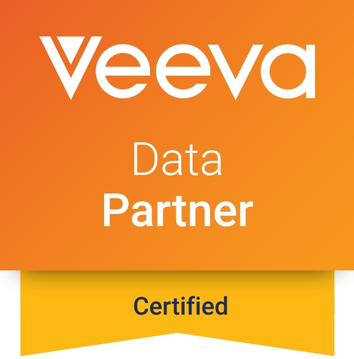 Veeva Certified Data Partner badge