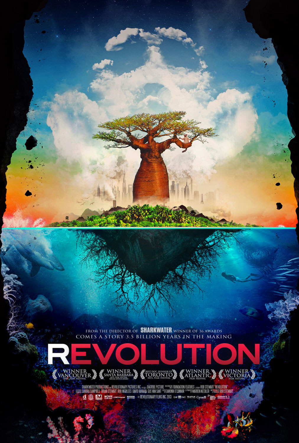 Movie poster for Revolution directed by Rob Stewart