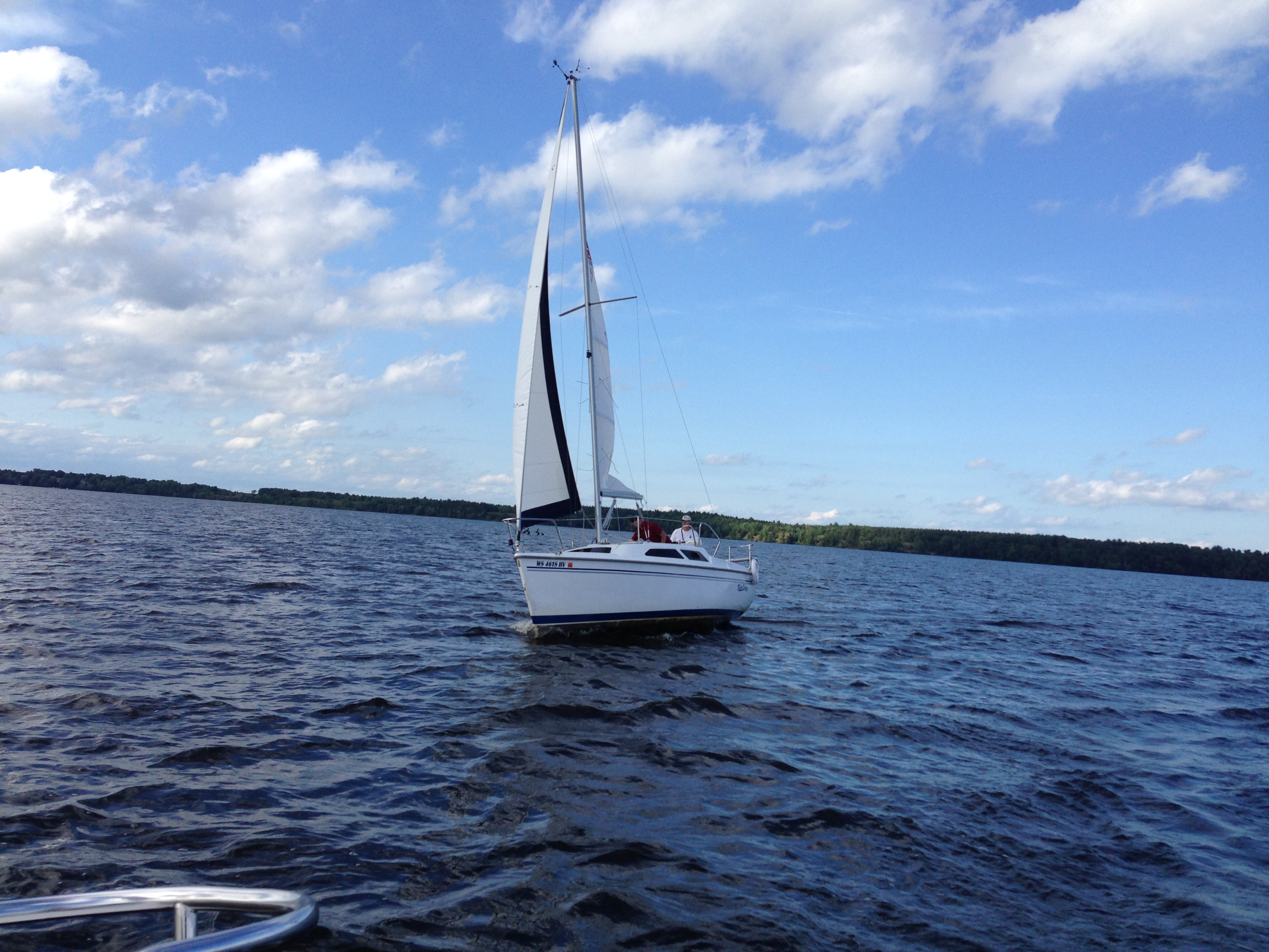 Sailing for the blind