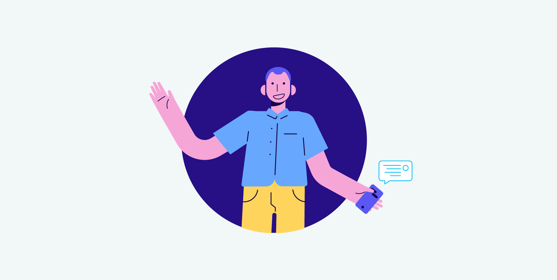 A service designed for you: using messaging to personalize user experience