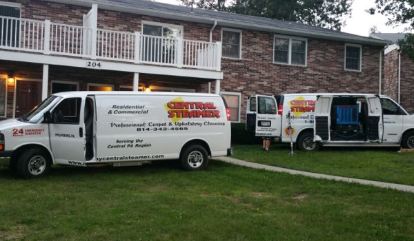carpet cleaning vans