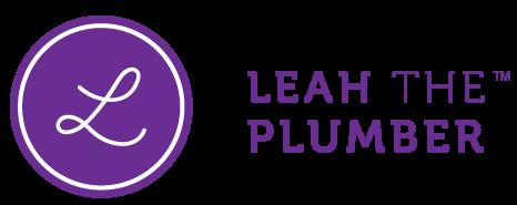 Leah The Plumber logo